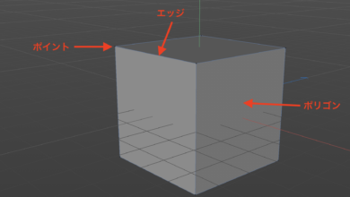 Photo of オブジェクトのポイント、エッジ、ポリゴンを使ってモデリングをしてみよう!